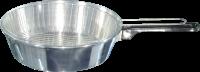 Frigideira Alumínio com Peneira N°24.