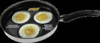 Frigideira 3 ovos Teflon Interno N°22.